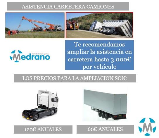 Ampliación Asistencia Camiones